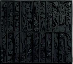 Louise Nevelson sculpture Rain Garden ll