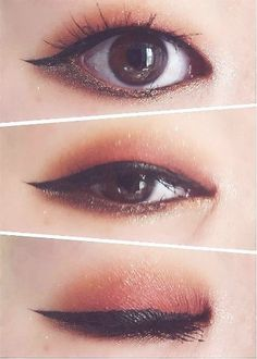 Korean makeup hacks, When wanting to improve your appearance, the most important. - - Korean makeup hacks, When wanting to improve your appearance, the most important things to bear in mind . Korean Makeup Look, Korean Makeup Tips, Asian Eye Makeup, Korean Makeup Tutorials, Korean Makeup Tutorial Natural, Art Tutorials, Monolid Eyes, Monolid Makeup, Makeup Lipstick