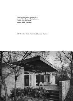 Beattie Residence - Rye, New York - 1958 (Page 2 of 6)