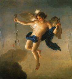 Héspero como personificación de la tarde,  de Anton Raphael Mengs