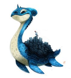 Piper Thibodeau Q造型卡通动物角色设计