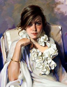 Waiting for him Woman Painting, Painting & Drawing, Muse Kunst, Pastel Landscape, She's A Lady, Muse Art, Spanish Painters, Art For Art Sake, Sculpture