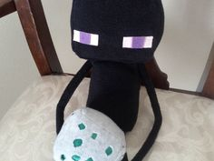 Minecraft  Enderman  20in plush by CosmicPlushies on Etsy, $25.00