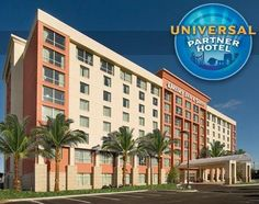 Drury Inn and Suites Orlando is a Universal Partner Hotel.