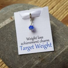 Slimming/Weight Loss Charms – #slimmingworld #targetweight #weightloss www.brightshinyobjects.co.uk