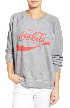 Wildfox 'Coca-Cola®' Graphic Sweatshirt available at #Nordstrom