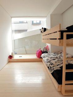 bunk bed in Japanese kids room