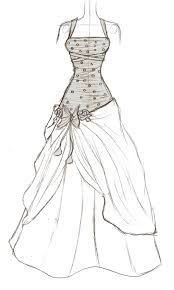 learn how to draw dresses step by step - Google Search ...