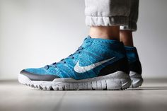 NIKE FLYKNIT TRAINER CHUKKA FSB (SQUADRON BLUE) | Sneaker Freaker