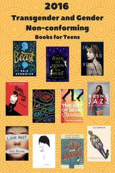 These young adult novels feature transgender and gender non-conforming teens.Feature them in your library for Transgender Awareness Week November 14-20.