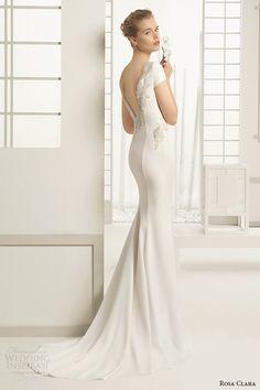 Rosa Clara 2016 Bridal Collection - Belle The Magazine Rosa Clara Bridal, Rosa Clara Wedding Dresses, 2016 Wedding Dresses, Bridal Dresses, Wedding Gowns, Dresses 2016, Bridal Collection, Dress Collection, Vestidos Sexy