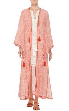 Long Fatima Robe by Talitha for Preorder on Moda Operandi