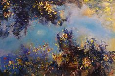 Afloat by Grace Aza-Selinger, mixed media