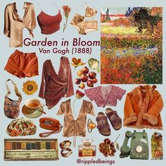 Garden in bloom niche style meme Aesthetic Fashion, Aesthetic Clothes, Aesthetic Outfit, Style Board, Cool Outfits, Fashion Outfits, Artsy Outfits, Fashion Sketches, Fashion Illustrations