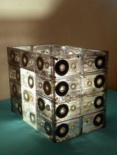 Tutorial: Cómo hacer una Lámpara con Cassettes   Camionetica - Parte 2