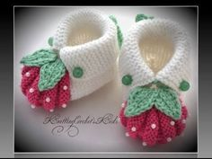 """Homemade baby booties are perf"", ""This post was discovered by Ümr"", ""Items similar to Handmade knitting baby slippers \""Adidas\"" pair) on Etsy"", ""These are knit, but it does give me the idea that I can work out for crochet also. Baby Knitting Patterns, Baby Booties Knitting Pattern, Crochet Baby Shoes, Crochet Baby Booties, Crochet Slippers, Knitting For Kids, Knitted Baby, Diy Crafts Knitting, Crafts"
