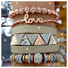 Starla - this website has the best stacked bracelet sets