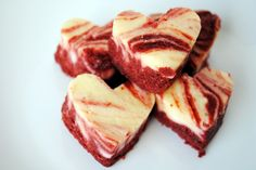 Red Velvet Cheescake Bites