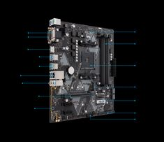 AMD motherboard with Fan Xpert intelligent cooling controls with GPU temperature sensing, and Aura Sync RGB header for custom lighting personalization Super Speed, Asus Laptop, Circuit Design, Voltage Regulator, Image House, Laptops, Philippines, Laptop