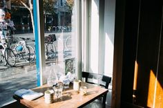 Bar Tartine's light-filled nook. Photo by @irenekly.