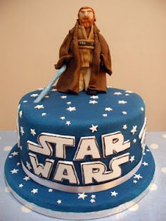 Star Wars birthday cake! :D