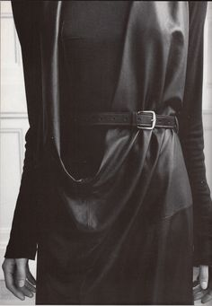 Ann Demeulemeester, Dress, photographed by Steven Meisel for Vogue Italia, 1997