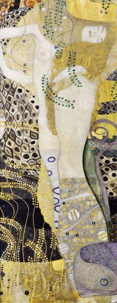 Water Snakes, 1904-1907 by Gustav Klimt
