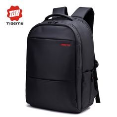 39.96$  Watch here - http://aliknb.shopchina.info/go.php?t=32796724015 - 2017 Women Men's Backpack Tigernu Large Capacity Fit 31*42cm Laptop Daily Backpack Casual Business mochila bag School backpack 39.96$ #buyonlinewebsite