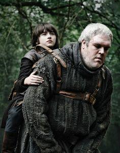 Hodor  Bran ~ Game of Thrones