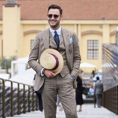 Men's Vintage, Vintage Fashion, Fashion Styles, Men's Fashion, Stylish Men, Men's Clothing, Mens Suits, Men's Style, Panama Hat