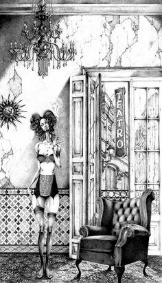 Ocio Inteligente: para vivir mejor: Pintores de hoy (74): Adolfo Arenas Alonso. Pictures To Draw, Art Pictures, Pencil Drawings, Art Drawings, Alonso, Amazing Drawings, Sad Girl, Art Sketchbook, Erotic Art
