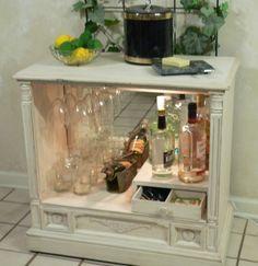 repurposed furniture ideas tv cabinet - Google Search