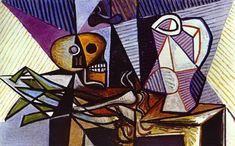 Pablo Picasso. Still-Life, 1945Pablo Picasso - More Pins Like This At FOSTERGINGER @ Pinterest