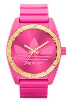 Armbanduhr, Adidas Originals, »Santiago ADH2804«. Diese modische Armbanduhr ist ein echter Blickfang an Ihrem Handgelenk.