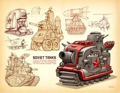 The mono track makes a good concept for a grot tank