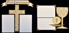 Religious Scrapbooking Kit First Communion by GreenTangerinesShop, $10.00