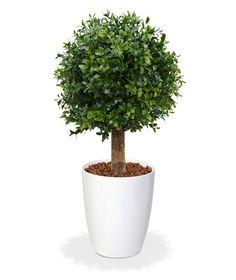 Künstliche Buchsbaumkugel 25 cm - Maxifleur Kunstbäume