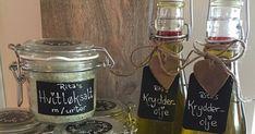 Litt krydder i hverdagen. Mason Jar Wine Glass, Food And Drink, Drinks, Tableware, Christmas, Gifts, Creative, Beverages, Dinnerware