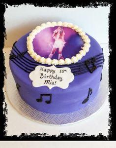 Ariana Grande inspired music cake