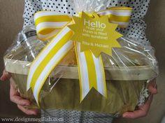 Design Megillah: Hello Sunshine: Shalach Manos Baskets