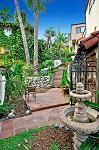 Courtyard in 1929 Spanish Colonial Revival, Dana Point, CA