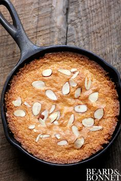 If you're lucky enough to have some meyer lemons on hand...this skillet cake looks great (also gluten free!).