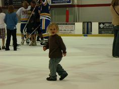 After the game anyone could come out onto the ice talk, get pictures or autographs with their favorite player/s .