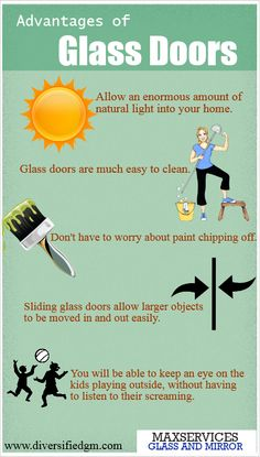 #glassreplacementMiami Advantages of Glass Doors