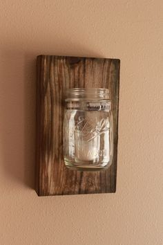 1000 ideas about mason jar sconce on pinterest barn wood decor wall vases and barn wood. Black Bedroom Furniture Sets. Home Design Ideas