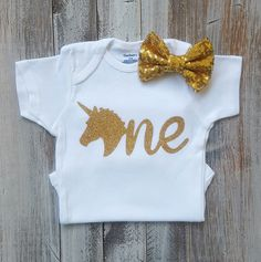Unicorn birthday outfit, Unicorn onesie, Baby girl clothes, Onesie, Unicron birthday, Baby girl onesies, Baby girl, Baby clothes, Unicorn by GoldenHeartsCloset on Etsy https://www.etsy.com/listing/496911970/unicorn-birthday-outfit-unicorn-onesie