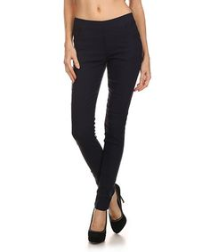 Look what I found on #zulily! Navy Skinny Dress Pants #zulilyfinds