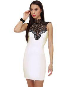 Renaissance Court Lace White Dress