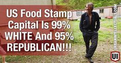 We all know the stereotype, the food stamp collecting black ghettos scattered around the US, well, stereotypes need to be stamped out for good reason and beating them back one by one is paramount! The attack on the black community as a bunch of government begging, scamming, poor people is racist at it's core and