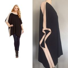 NWT Fabulous ❄️ Perfect Poncho Winter days ❄️ Perfect Poncho with wide leg jeans  or skinny jeans and boots  Knit Fabric, Side Zipper detail  hand wash please see measurements as not all sizes are the same ✅will Bundle  ✅ all reasonable offers will be considered ✅ No Trading  Poshmark rules only‼️ Measurements taken laying flat Ⓜ️With 36 Ⓜ️Length 28 Cremieux  Sweaters Shrugs & Ponchos